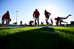 Bristol City Women warm up prior to kick off - Mandatory by-line: Ryan Hiscott/JMP - 19/01/2020 - FOOTBALL - Stoke Gifford Stadium - Bristol, England - Bristol City Women v Liverpool Women - Barclays FA Women's Super League