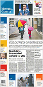 April 02, 2021 (CANADA): Front-page: Today's Newspapers In Canada