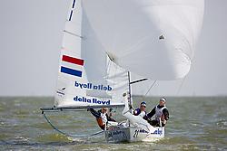 08_01019 © Sander van der Borch. Medemblik - The Netherlands,  May 21th 2008 . First day of the Delta Lloyd Regatta 2008.