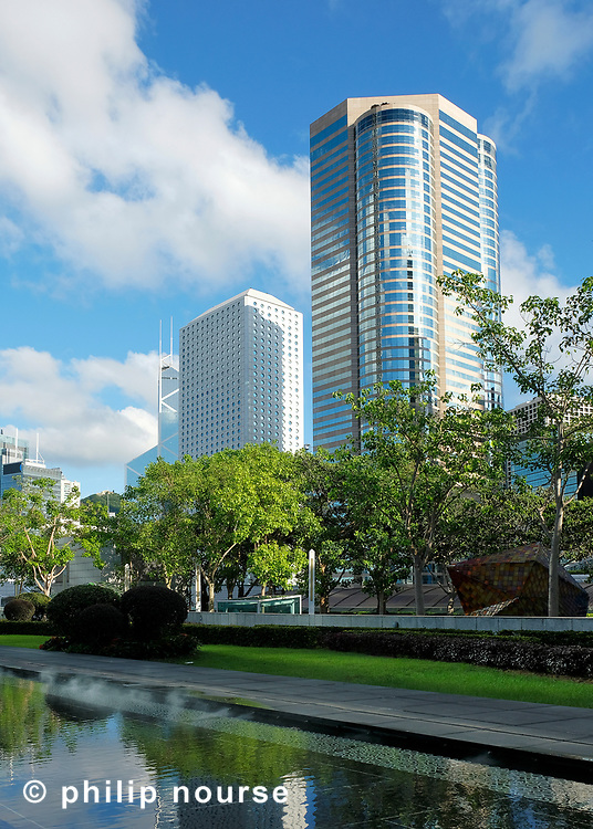 Exchange Square and Jardine House, Central
