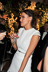 SASHA VOLKOVA at a dinner and dance hosted by Leon Max for the charity Too Many Women in support of Breakthrough Breast Cancer held at Claridges, Brook Street, London on 1st December 2011.