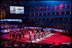 November 12, 2016 - London, United Kingdom - Image ¬©Licensed to i-Images Picture Agency. 12/11/2016. London, United Kingdom. Royal Festival of Remembrance. ..A general view of the annual Royal Festival of Remembrance at the Royal Albert Hall in London...Picture by  i-Images / Pool (Credit Image: © i-Images via ZUMA Wire)