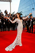 """Andie MacDowell attends the """" The sea of trees """" screening during the 68th Cannes Film Festival in Cannes on May 16, 2015"""