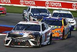 September 30, 2018 - Concord, North Carolina, United States of America - Daniel Suarez (19) races during the Bank of America ROVAL 400 at Charlotte Motor Speedway in Concord, North Carolina. (Credit Image: © Chris Owens Asp Inc/ASP via ZUMA Wire)