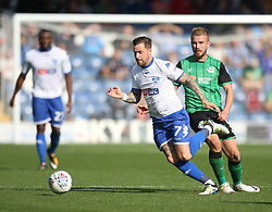 Chris Maguire of Bury (C) in action - Mandatory by-line: Jack Phillips/JMP - 02/09/2017 - FOOTBALL - Gigg Lane - Bury, England - Bury v Scunthorpe United - English Football League One