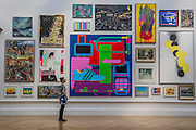 Space II by Michael Craig-Martin and other works - The Royal Academy of Arts' 248th Summer Exhibition is coordinated by the renowned British sculptor and Royal Academician Richard Wilson.