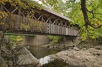 Sunday River covered bridge Maine