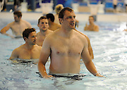 Ali Kellock - Scotland captain.<br /> Scotland rugby union team post match recovery session, Rugby World Cup, Southland Aquatic Centre, Invercargill, Southland, New Zealand, Sunday 10th September 2011<br /> PLEASE CREDIT ***FOTOSPORT/DAVID GIBSON***