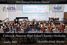 Calvert and Patuxent High School Chamber Orchestra