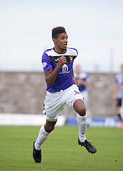 East Fife's Nathan Austin. <br /> East Fife 2 v 1 Elgin City, Ladbrokes Scottish Football League Division Two game played 22/8/2015 at East Fife's home ground, Bayview Stadium.