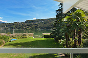 panoramic view from the balcony of an house