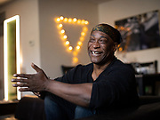 Brooklyn, NY - November 18, 2020: Portraits of Jackie Summers at his home in Bedford-Stuyvesant.<br /> <br /> Photos by Clay Williams.<br /> <br /> © Clay Williams / claywilliamsphoto.com