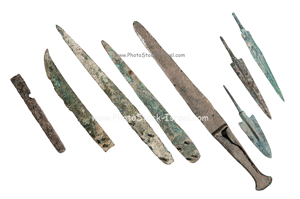 Canaanite bronze weapons Bronze Age circa 2nd millennium BCE