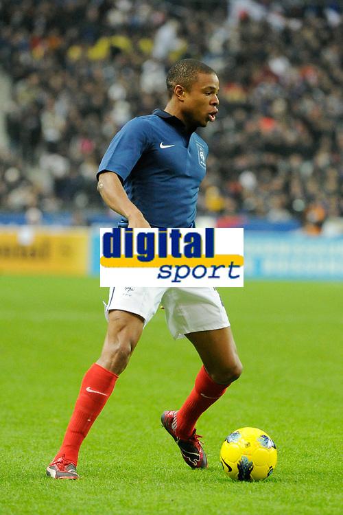 FOOTBALL - FRIENDLY GAME 2011 - FRANCE v BELGIUM - 15/11/2011 - PHOTO JEAN MARIE HERVIO / DPPI - LOIC REMY (FRA)
