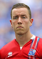 Uefa - World Cup Fifa Russia 2018 Qualifier / <br /> Iceland National Team - Preview Set - <br /> Hannes Thor Halldorsson