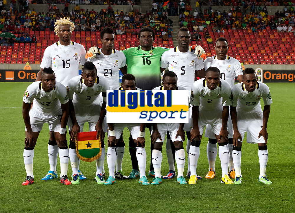 PORT ELIZABETH, SOUTH AFRICA - FEBRUARY 09, Ghana team photo during the 2013 Orange African Cup of Nations 3rd and 4th Play-Off match between Mali and Ghana from Nelson Mandela Bay Stadium on February 09, 2013 in Port Elizabeth, South Africa<br /> Photo by Richard Huggard / Gallo Images
