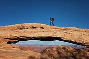 Mesa Arch at Canyonlands National Park Utah