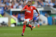 Nahki Wells of Huddersfield Town in action. EFL Skybet  championship match, Reading  v Huddersfield Town at The Madejski Stadium in Reading, Berkshire on Saturday 24th September 2016.<br /> pic by John Patrick Fletcher, Andrew Orchard sports photography.