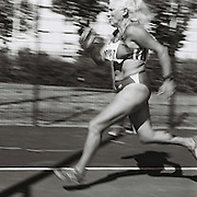Slug: MASTERS<br /> Assignment ID: 30177851A<br /> Desk: SPT<br /> Date: 8/5/2015<br /> <br /> Heptathlete Margaritha Daehler-Stettler, 67, of Switzerland runs down the runway of the long jump, the first event on the second day of the 65-69 age division women's combined events, or heptathlon, on August 5, 2015 at the Laurent Gérin stadium in Venissieux, France during the 2015 World Masters Athletics Championships. <br /> <br /> The Championships, which include track & field events (as well as race walking, marathon, cross country, half marathon and combined events) contested by athletes of 35 ages and over divided into 5-year age divisions, are being held at multiple locations in Lyon, France from August 4 through 16, 2015. <br /> <br /> The second day of heptathlon competition includes the long jump, javelin and the 800 meters. Combined events are scored using an international point table, and masters scores are age-graded so they are comparable across age ranges. <br /> <br /> <br /> photo by Angela Jimenez for The New York Times<br /> photographer contact 917-586-0916