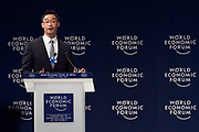 Philipp Rösler, Head of Regional and Government Engagement, Member of the Managing Board<br /> World Economic Forum at the World Economic Forum on Africa 2017 in Durban, South Africa. Copyright by World Economic Forum / Greg Beadle