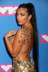 August 20, 2018 - New York City, New York, U.S. - NATALIE HALCRO attends the arrivals for the 2018 MTV 'VMAS' held at Radio City Music Hall. (Credit Image: © Nancy Kaszerman via ZUMA Wire)