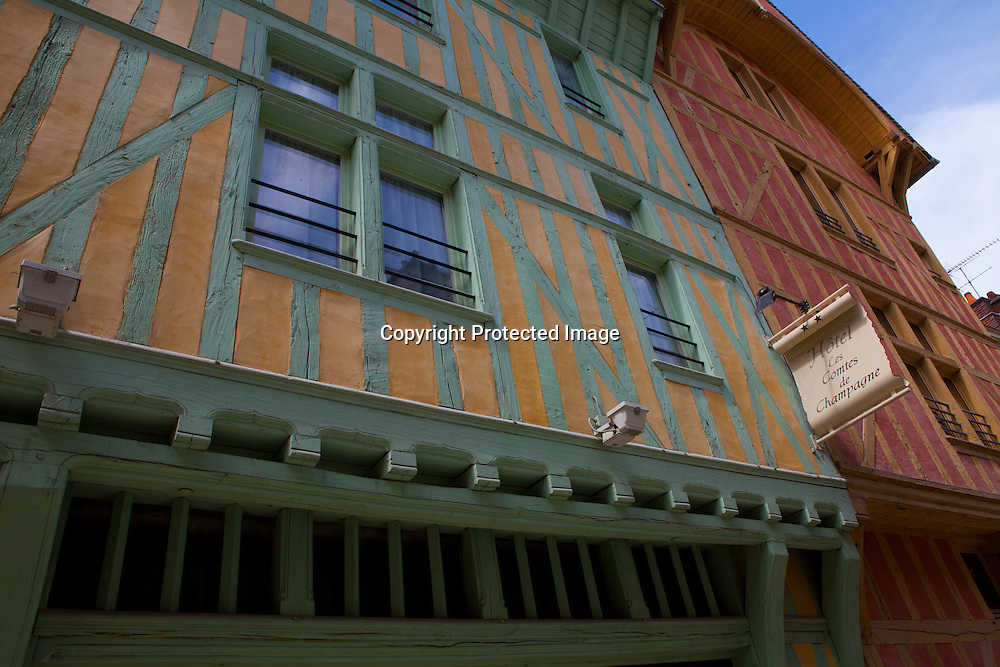 french village (troyes)
