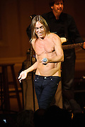 Iggy Pop at the Twentieth Annual Tibet House Benefit Concert  at Carnegie Hall, New York City. February, 26, 2010. Copyright © 2010 Chris Owyoung. All Rights Reserved.