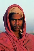 Young man, Delhi, India.