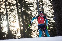 Justine Braisaz (FRA) during the Mass Start Women 12,5 km at day 4 of IBU Biathlon World Cup 2019/20 Pokljuka, on January 23, 2020 in Rudno polje, Pokljuka, Pokljuka, Slovenia. Photo by Peter Podobnik / Sportida