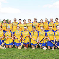 31 August 2008; The Clare squad. All-Ireland Minor A Championship Final, Clare v Kilkenny, Geraldine Park, Athy, Co. Kildare. Picture credit: Paul Mohan / SPORTSFILE *** NO REPRODUCTION FEE ***