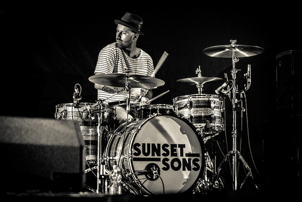 SUNSET SONS   Supporting Act for IMAGINE DRAGONS  Oberhausen   2015-10-11