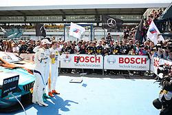 May 5, 2018 - Motorsports: DTM race Hockenheimring, Saison 2018 - 1. Event Hockenheimring, GER, Lucas Auer ( AUT, Mercedes HWA AG ), Timo Glock, ( D, BMW Team RMG  (Credit Image: © Hoch Zwei via ZUMA Wire)