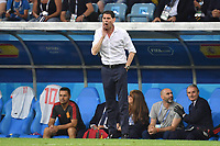 Fernando HIERRO ,Trainer (ESP) , Gestik,gibt Anweisungen, Einzelbild,Freisteller, Ganzkoerperaufnahme,ganze Figur. Portugal (POR)-Spanien (ESP) 3-3, Vorrunde, Gruppe B, Spiel 1, am 15.06.2018 in SOTSCHI,Fisht Olymipic Stadium. Fussball Weltmeisterschaft 2018 in Russland vom 14.06. - 15.07.2018. *** Fernando HIERRO Manager ESP Gestures Gives Instructions Full Shot Full Frame Full Body Full Frame Portugal POR Spain ESP 3 3 Preliminary Group B Match 1 on 15 06 2018 in SOCHI Fisht Olymipic Stadium Football World Cup 2018 in Russia vom 14 06 15 07 2018