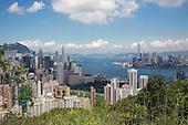Above Hong Kong