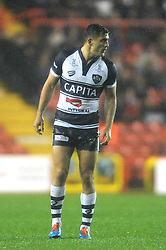 Bristol Rugby's Jack Wallace - Photo mandatory by-line: Dougie Allward/JMP - Mobile: 07966 386802 - 07/11/2014 - SPORT - Basketball - Bristol - Ashton Gate - Bristol Rugby v Doncaster Knights - Greene King IPA Championship