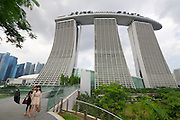 Singapore. Marina Bay Sands Hotel.