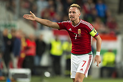 September 3, 2017 - Budapest, Hungary - Balazs Dzsudzsak of Hungary reacts after the yellow card during the FIFA World Cup 2018 Qualifying Round match between Hungary and Portugal at Groupama Arena in Budapest, Hungary on September 3, 2017  (Credit Image: © Andrew Surma/NurPhoto via ZUMA Press)