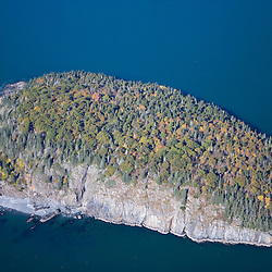 Bald Porcupine Island in Acadia National Park Maine USA