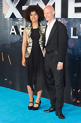 © Licensed to London News Pictures. 09/05/2016. ALEXANDRA SHIPP and TOMAS LEMARQUIS attends the global fan screening of X-Men: Apocalypse.  London, UK. Photo credit: Ray Tang/LNP