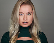 Actor Kristina P. poses for a headshot at SOSKIphoto in Hayward, California, on October 15, 2020. (Stan Olszewski/SOSKIphoto)