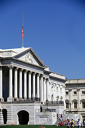 Supreme Court Flag At Half Mast