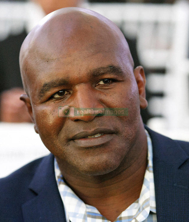 October 1, 2018 - Kiev, Ukraine - Ex boxing champion of the World Evander Holyfield attends an official opening of the 56th WBC ( World Boxing Council ) Convention in Kiev, Ukraine, 01 October, 2018. The 56th WBC Convention takes place in Kiev from September 30 to October 05. The event participate of boxing legends Lennox Lewis, Evander Holyfield, Eric Morales, Alexander Usik, Vitali Klitschko and about 700 congress participants from 160 countries. (Credit Image: © Str/NurPhoto/ZUMA Press)
