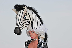 Atmosphere at the Investec Derby at Epsom Racecourse, Epsom Downs, Surrey on 4th June 2011.