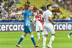 September 18, 2018 - Monaco, Monaco - Diego Godin (Atletico Madrid) - Radamel Falcao  (Credit Image: © Panoramic via ZUMA Press)