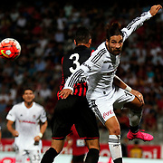 Besiktas's Olcay Sahan during their Turkish Super League soccer match Genclerbirligi between Besiktas at the 19 Mayis stadium in Ankara Turkey on Monday, 21 September 2015. Photo by Kurtulus YILMAZ/TURKPIX