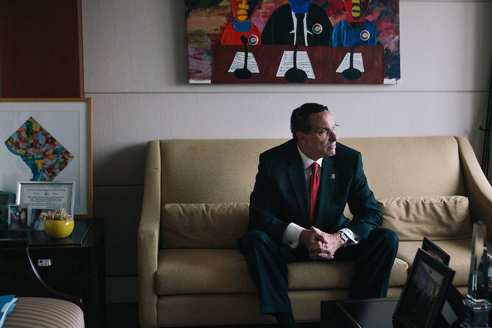 Washington, D.C., Mayor Vincent Gray and Maryland Rep. Andy Harris are on opposing sides over the decriminalization of marijuana in the District. Mayor Gray recently passed a bill to lessen the punishment for possession of small amounts of marijuana and in response Rep. Harris proposed a budget measure that would block funding for the law.