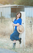 Country girl on her ranch by portrait photographer Kristina Cilia of Vacaville