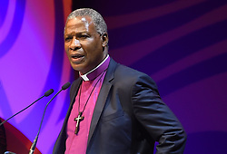 Cape Town-181007-Archbishop Thabo Mokgoba closed the Desmond Tutu Annual Peace Lecture  with prayer at the Artscape in Cape Town. .Photographer:Phando Jikelo/African News Agency(ANA)