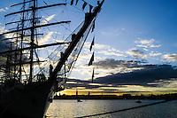 Sweden, Stockholm. Tall Ships Race Stockholm 2007. Dar Mlodziezy.