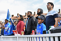 Cricket - 2019 ICC Cricket World Cup - Group Stage: India vs. Australia<br /> <br /> A young India fans sings their anthem, at The Kia Oval.<br /> <br /> COLORSPORT/ASHLEY WESTERN